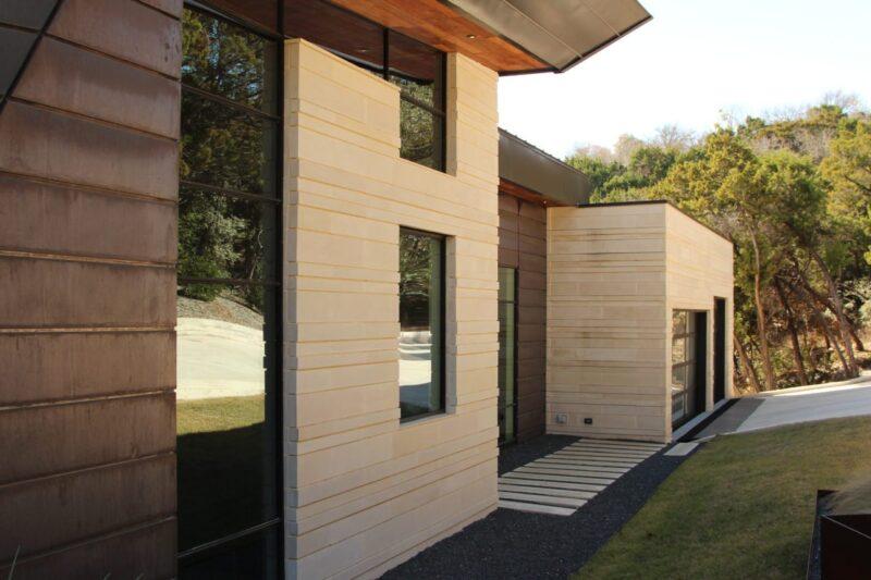 Buff lueders limestone wall cladding ultra modern