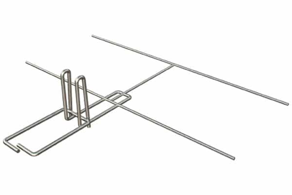 Ladder Mesh Reinforcement Ladder Adjustable Double Loop Tie