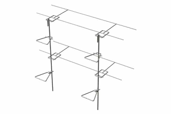 Ladder Mesh Reinforcement Stone Tab Ladder Wire & Ties Only